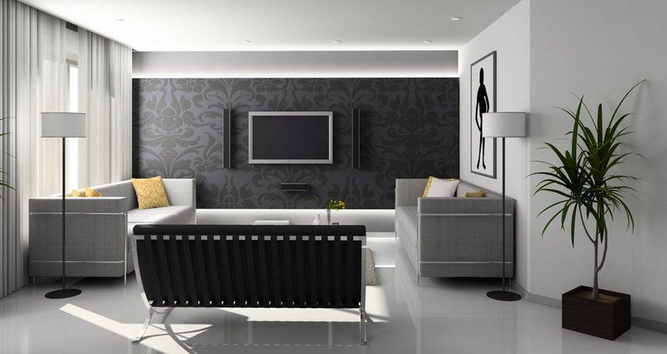 nowoczesny salon urządzony po włosku