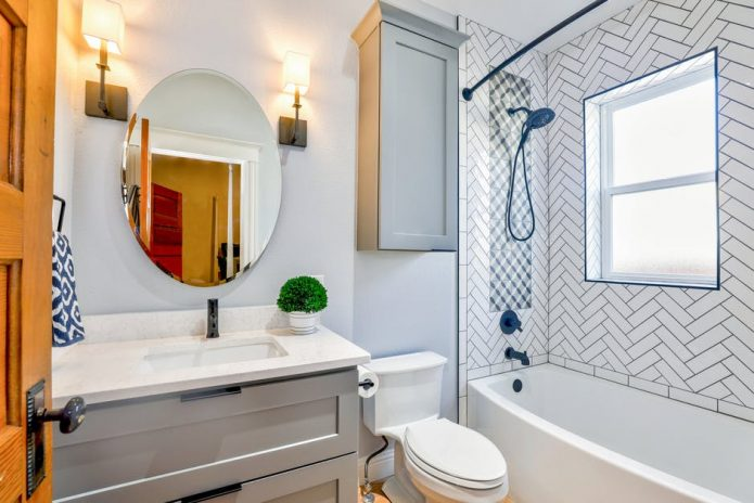 gustownie urządzona łazienka